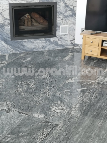 Blue Veined Marble Polished  | Granifil - Mármores e Granitos